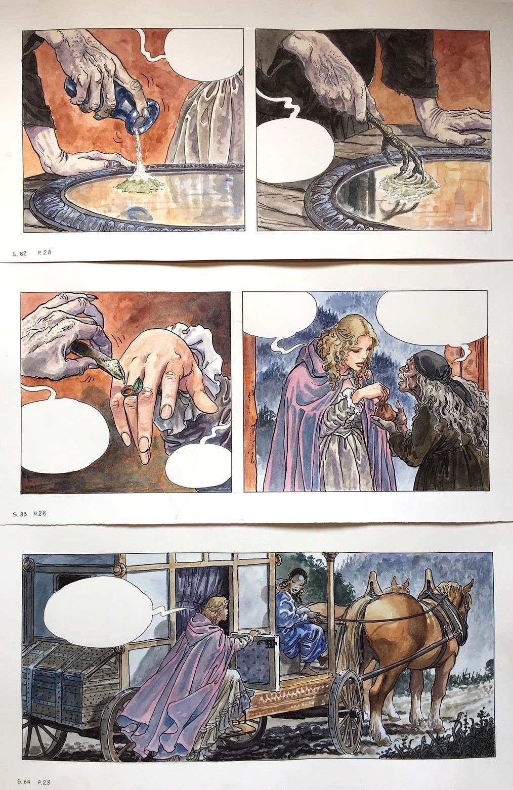 Manara, du côté d'Eros...et d'ailleurs - Page 4 Manara18