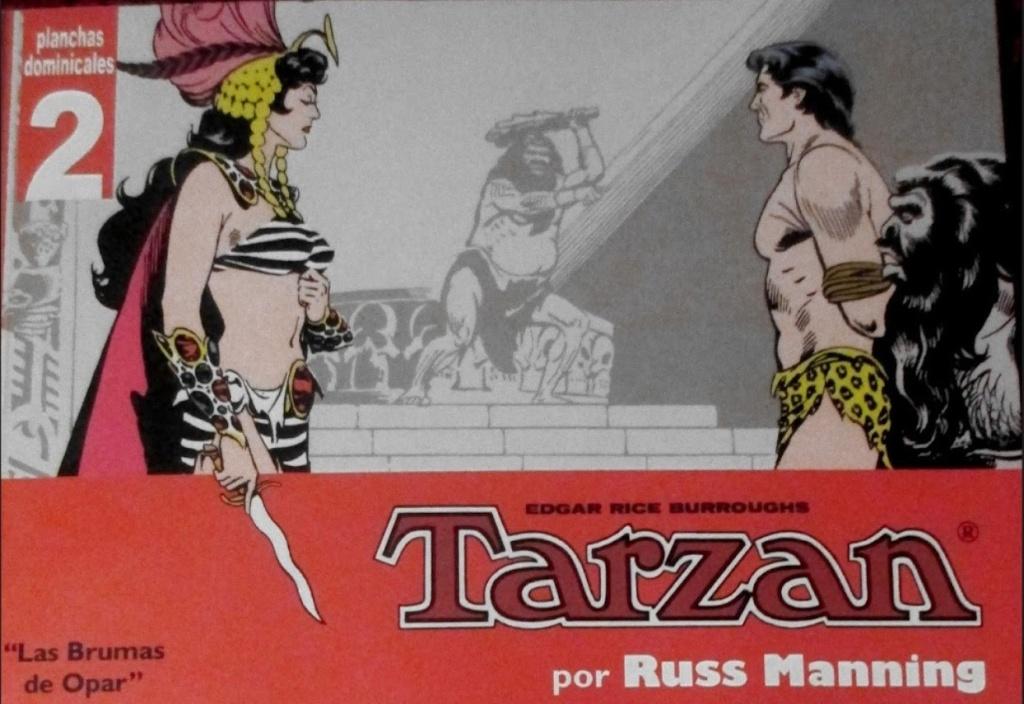 Tarzan par Russ Manning : réédition - Page 2 Mannin16