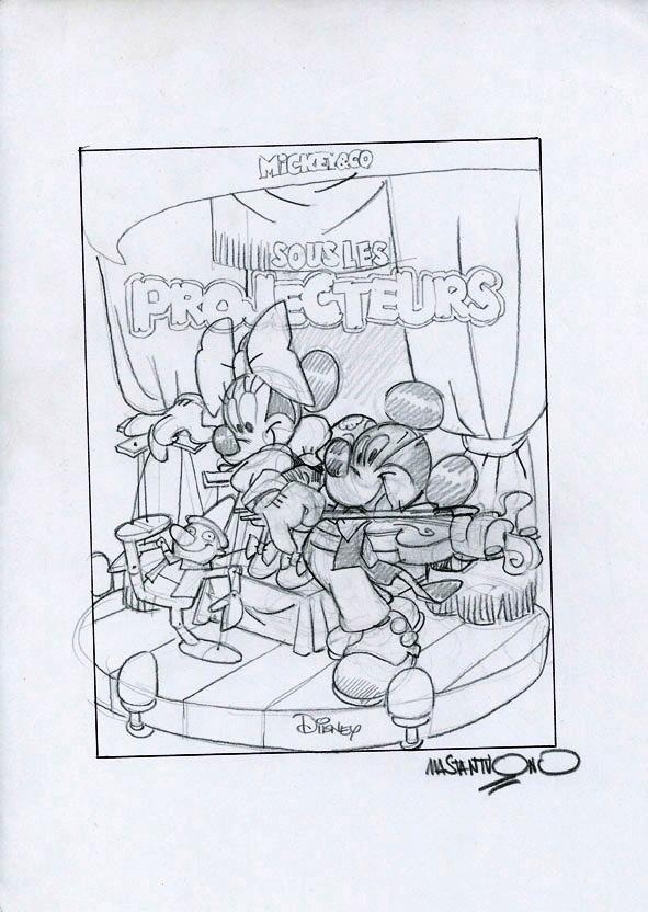 Mickey par Iwerks, Gottfredson et les autres - Page 7 Mastan10