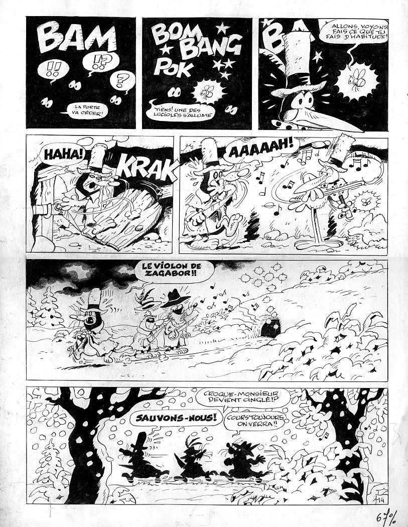 Le cadre merveilleux de Raymond Macherot - Page 13 Sibyll10