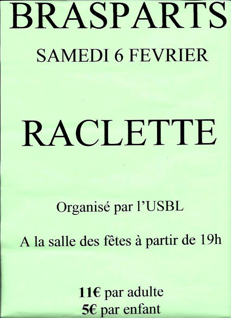 Raclette organisée par l'USBL le 6 févier Raclet10