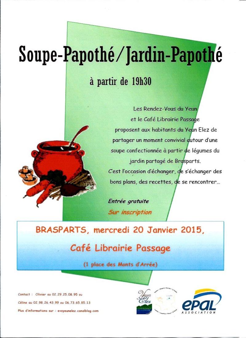 """La librairie """"Le Passage"""" à Brasparts /  samedi 10 décembre 2016 - Page 2 Soupe_10"""