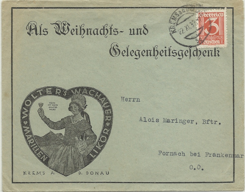 Werbeumschläge und -karten aus Österreich - Seite 4 1933_l10