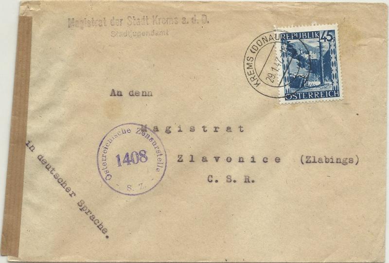 Landschaftsbilder ANK 738-766  -  Belege - Seite 7 19470110