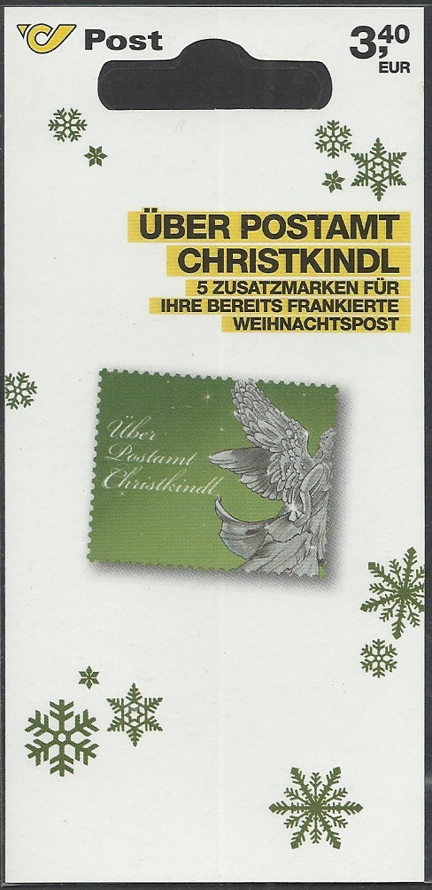 Postamt Christkindl  Leitzettel Christ14