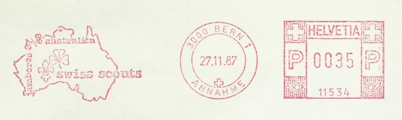 Freistempel / Thema Pfadfinder Chx25_10