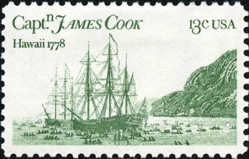 Briefmarken-Kalender 2016   Cook10