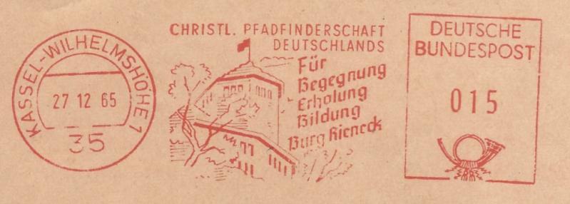 Freistempel / Thema Pfadfinder D_196510