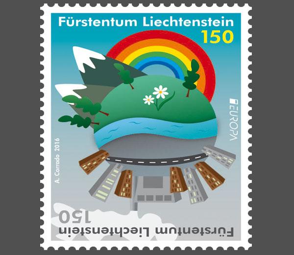 Liechtenstein 2016 - Ausgabetag 7. März Europa11