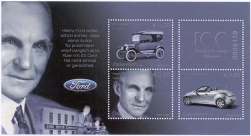 Briefmarken-Kalender 2016   Ford10