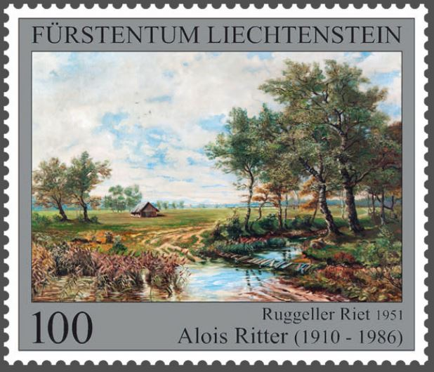 Liechtenstein 2016 - Ausgabetag 7. März Maler110