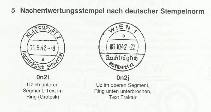 Nachträglich entwertet   -   Stempel aus Deutschland Nachen10