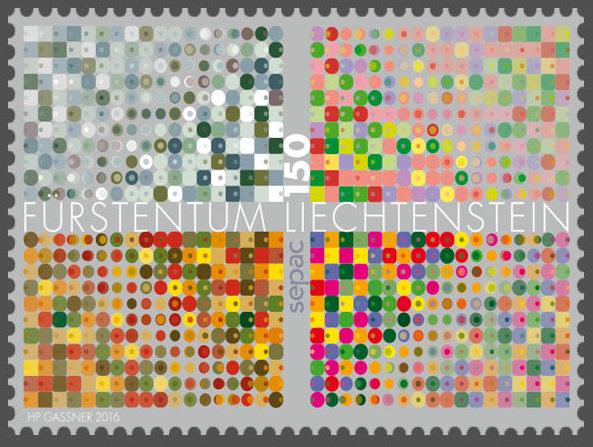 Liechtenstein 2016 - Ausgabetag 7. März Sepac-10