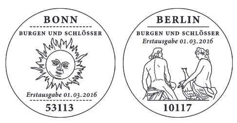 Ausgaben 2016 - Deutschland Stempe12