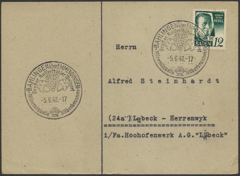 1945 - Ortswerbestempel - Deutschland nach 1945 (Handstempel) - Seite 2 Werbes11