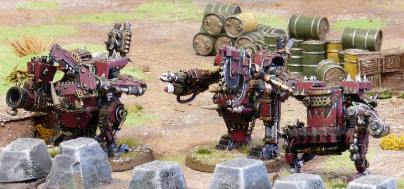 Warhammer 40K. Galerie de Batailles ! - Page 4 P1100153