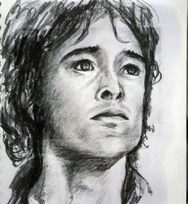 portraits au crayon Alex113