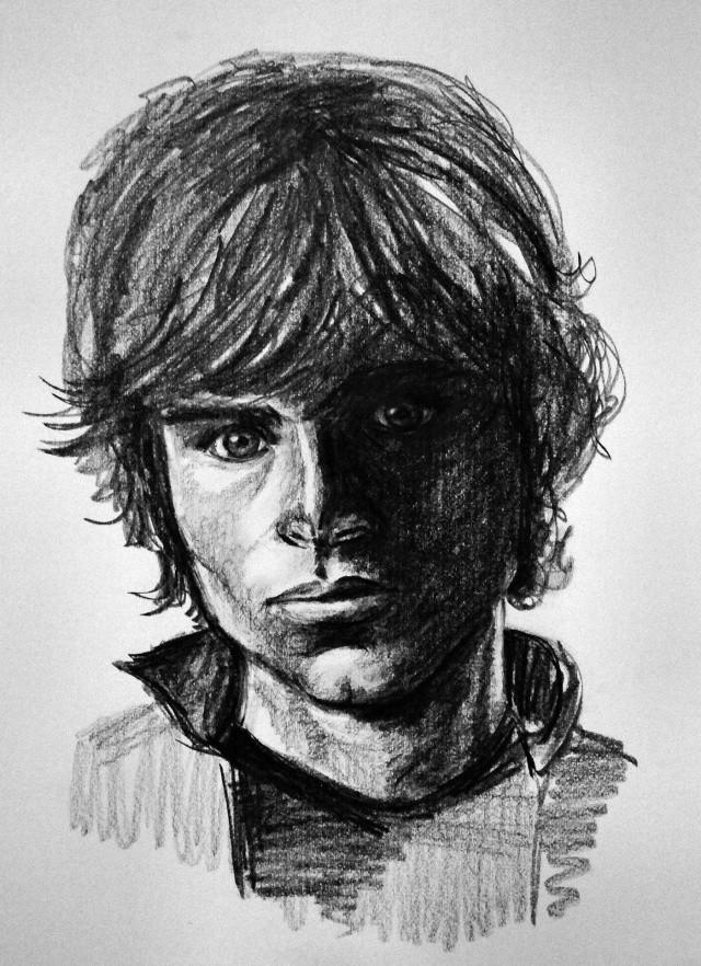 portraits au crayon Clarck11