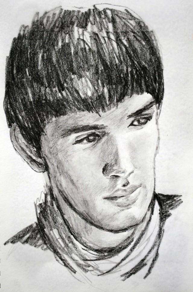 portraits au crayon Colinm12
