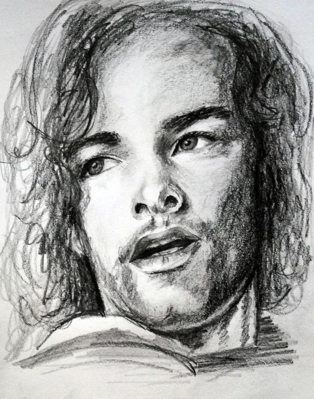 portraits au crayon Kyle3-11
