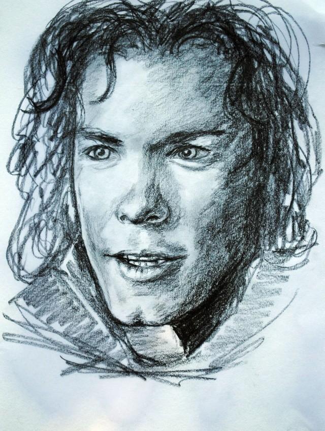 portraits au crayon Kylebi11