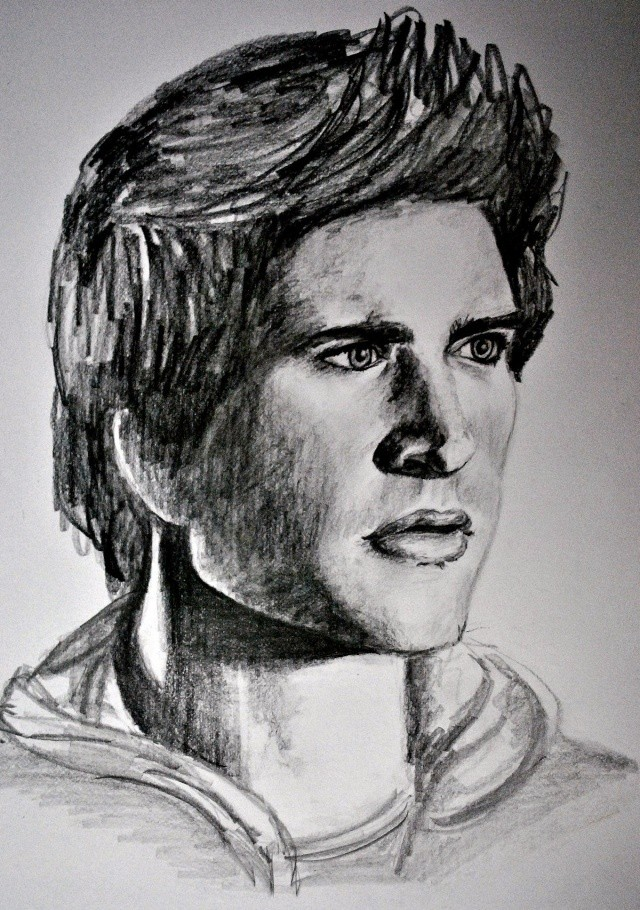 portraits au crayon Matt2b10