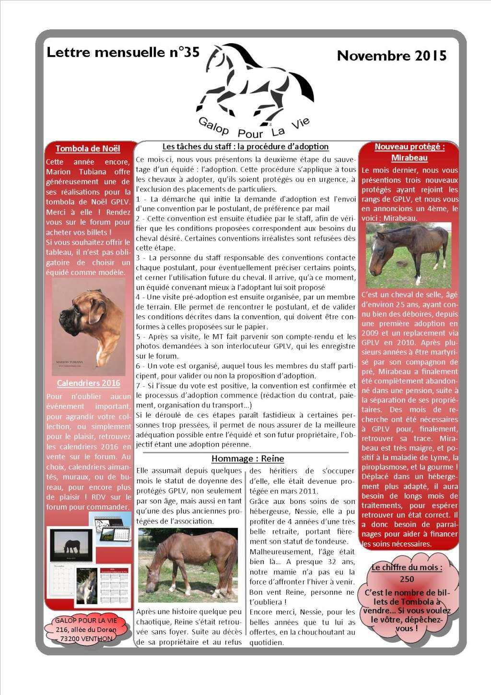 GPLV - Lettre Mensuelle n°35 - Novembre 2015  Imagep10