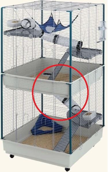 Question cage furet Cage-e13