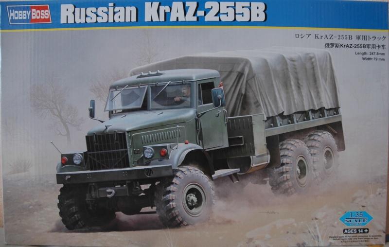 Le Russian KrAZ 255B au 1/35éme de chez Hobby Boss Dsc_0031
