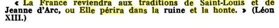 Maximes du  Saint Magistère et des Évêques, Confesseurs, Docteurs - Page 14 La_fra10