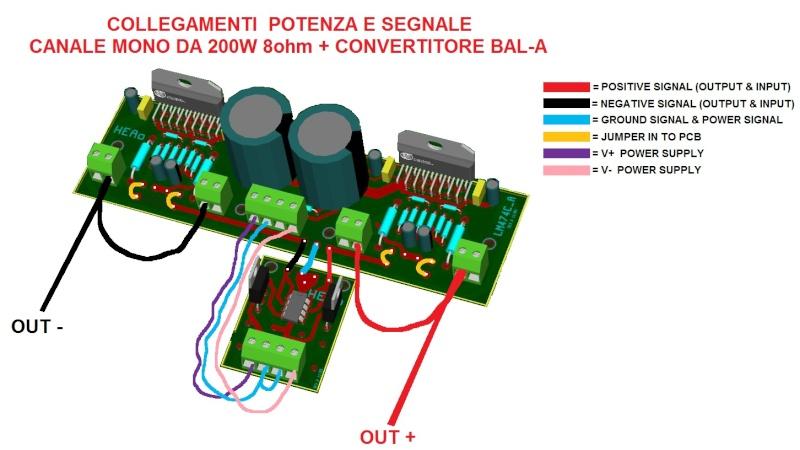 Nuovo Amplificatore HEAO (National LM4780 parallelo/ponte) - concorrenza al TA3020? Lm478010