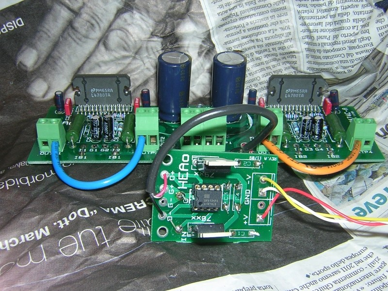 Nuovo Amplificatore HEAO (National LM4780 parallelo/ponte) - concorrenza al TA3020? Lm478011