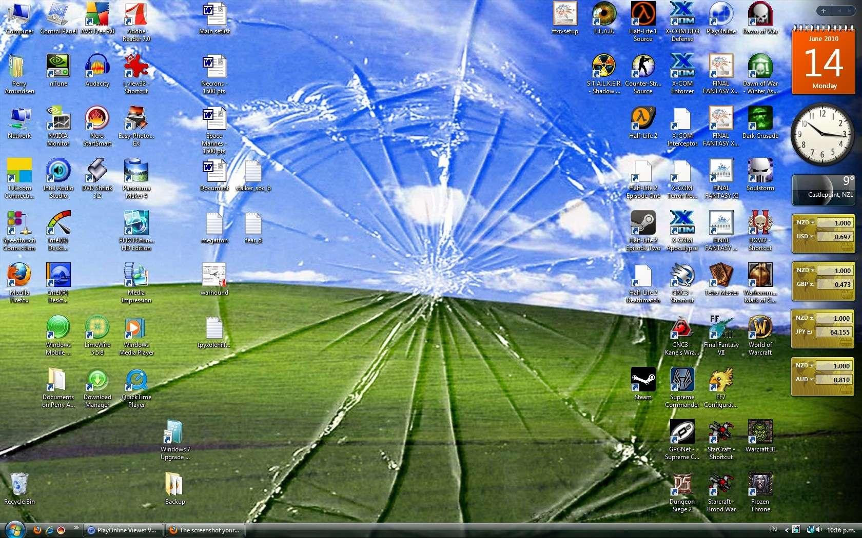 The screenshot your desktop thread. Clipbo10