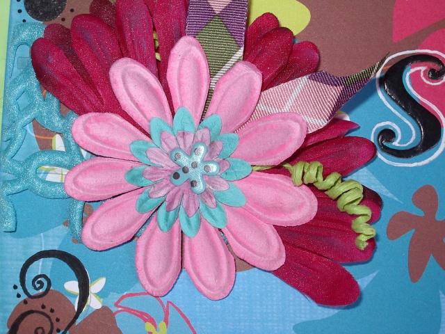 Classeur a tampons Fleur10