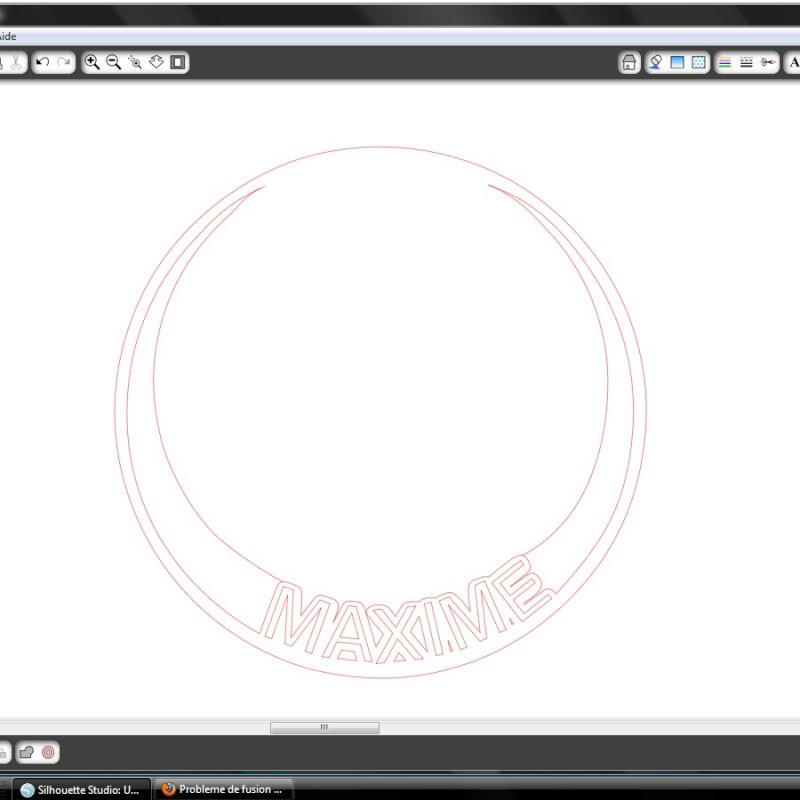 Probleme de fusion des formes sur Studio Proble11