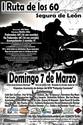 I Ruta de los 60 Segura de León 7-3-2010 Cartel10
