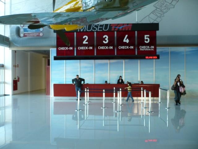 Reinauguração do museu da TAM 10810