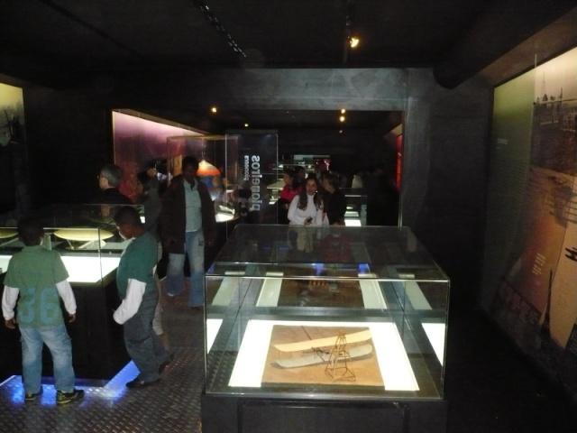 Reinauguração do museu da TAM 112