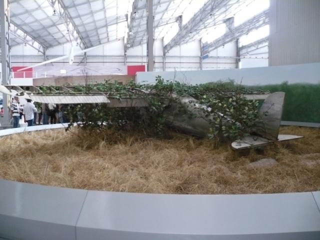 Reinauguração do museu da TAM 4110