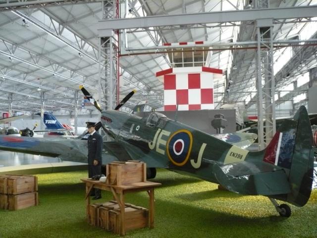 Reinauguração do museu da TAM 7110