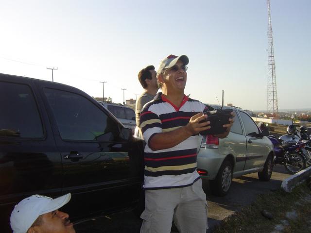Luiz Antônio lima ,faz história no aeromodelismo cearense !  Domin210