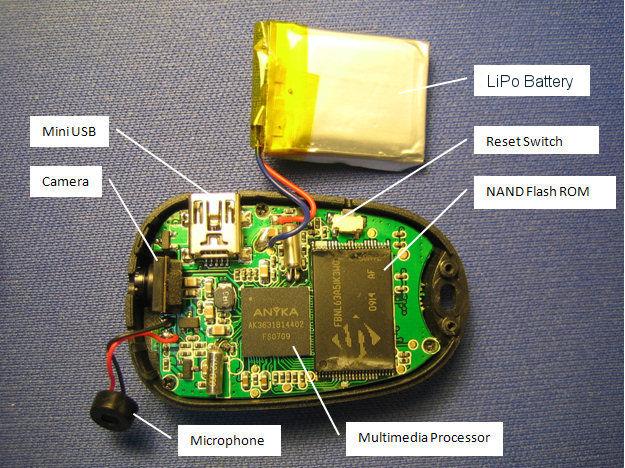 808 Car Keys Micro Camera with keychain - Uma alternativa barata Img_5410