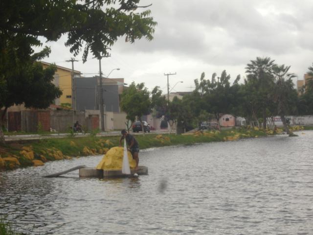 Grupo de Nautimodelismo de Fortaleza no lago do Condomínio Lago_024
