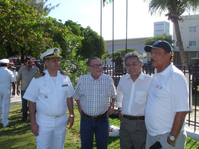Solenidade de abertura da semana da Marinha do Brasil Marin100