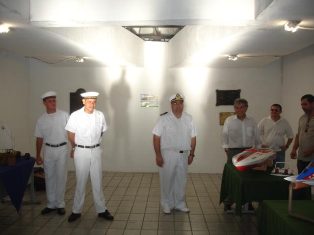 Solenidade de abertura da semana da Marinha do Brasil Marin129