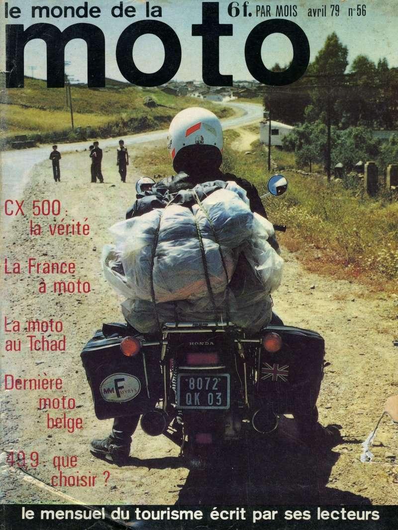 Honda CX500, la vérité. Le monde de la moto, avril 1979 Img16212