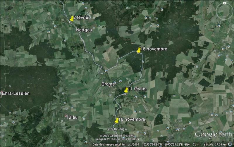 """Panneaux """"mémorial de la chute du rideau de fer entre les deux Allemagne (1393 km) """" Fronti11"""