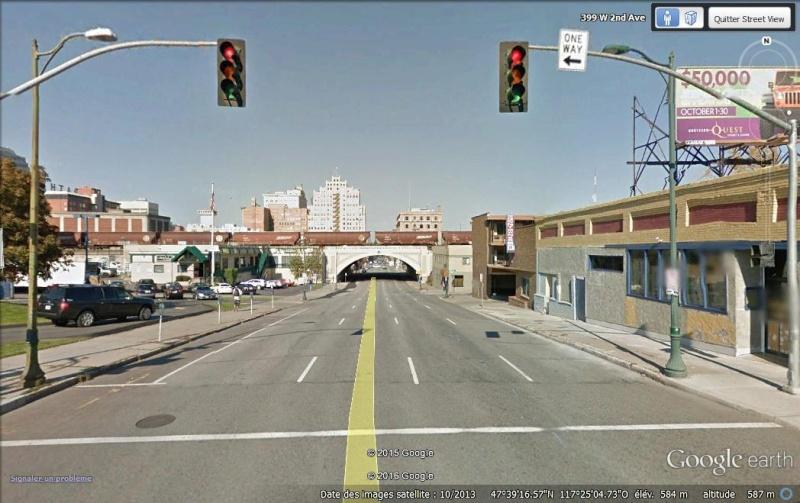 Lieux de tournage de vidéo-clip découverts avec Google Earth Spokan10