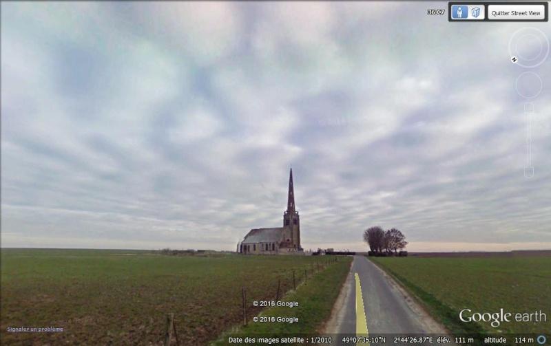 STREET VIEW : les cartes postales de Google Earth - Page 62 Yglise11