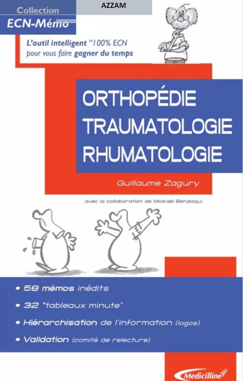ECN mémo Orthopédie-Traumatologie-Rhumatologie 00110